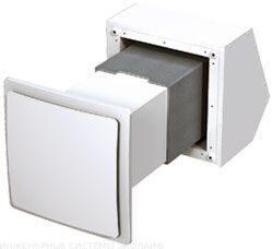 Вентиляция - установка стенных проветривателей