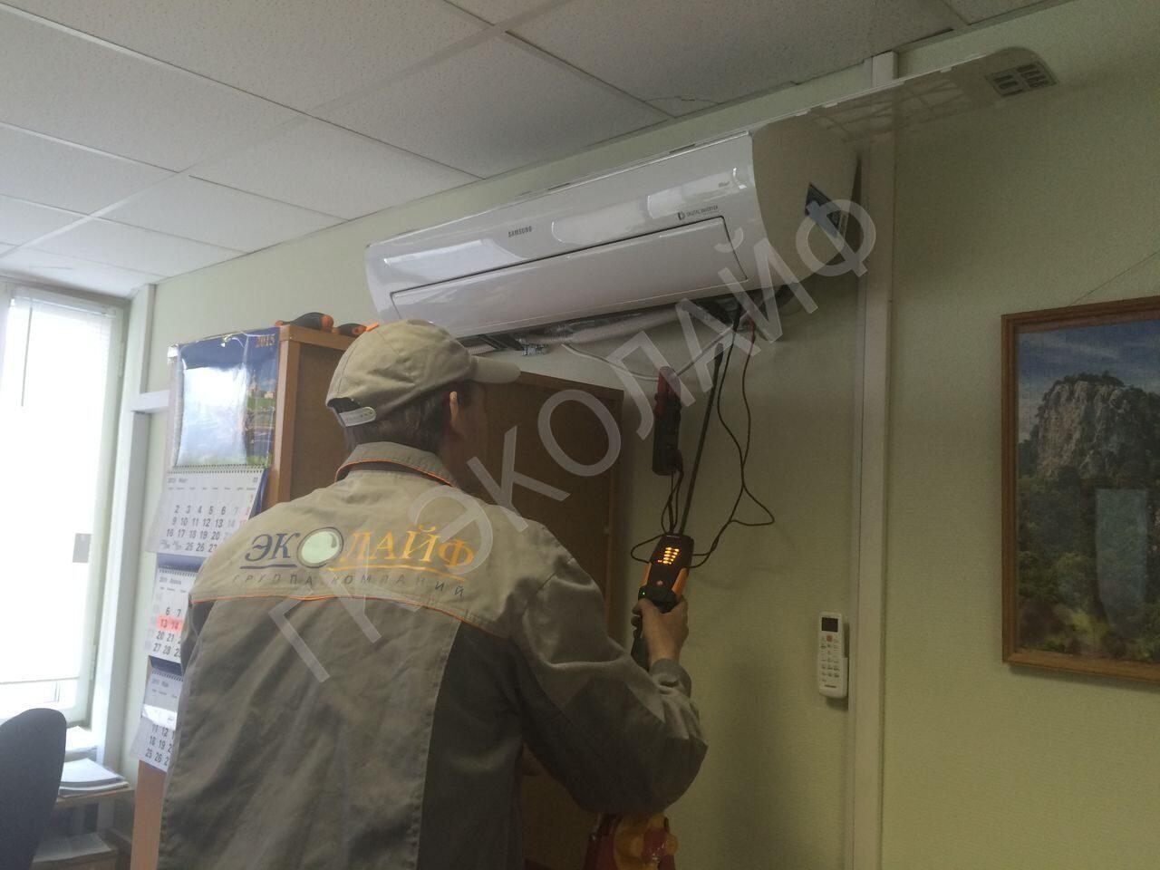 Техническое обслуживание сплит-систем.