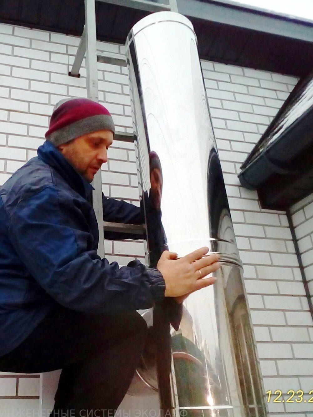 Работа дымоходы работа дымоход