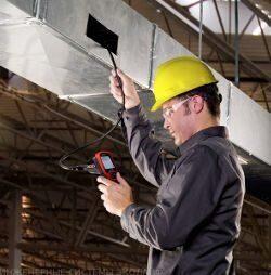 Телеинспекция дымохода и систем вентиляции