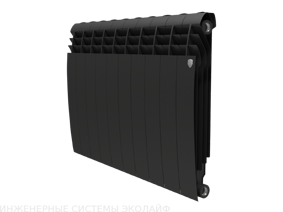 Royal Thermo BiLiner 500 Noir Sable - биметаллический радиатор отопления, 1 секция