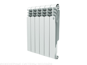 Royal Thermo Vittoria 500 - биметаллический радиатор отопления, 1 секция
